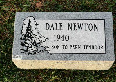 newton_bevel_headstone